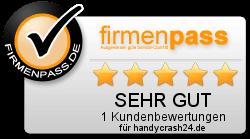 Kundenwertungen zu Handycrash24