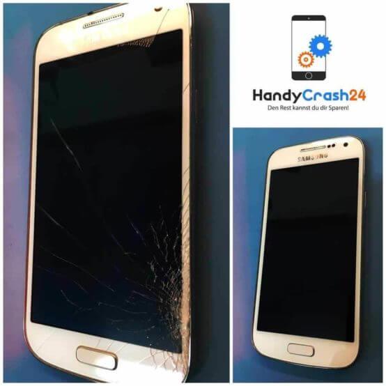 Samsung Glas Reparatur Vorher/Nachher