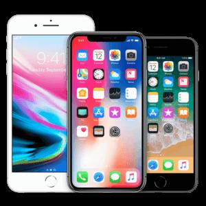 iPhone x, iPhone 7, iPhone 5s
