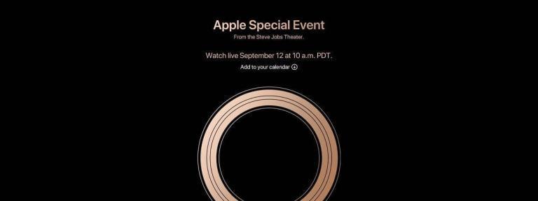 Apple Keynote – Vorstellung neues iPhone XS