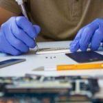 Reparatur am Gerät durch einen unserer Techniker